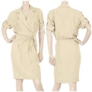 3.1 Phillip Lim Linen Blend Safari Dress | C755